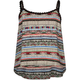 FULL TILT Tribal Print Girls Crcohet Trim Tank