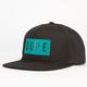 DOPE Minimalist Mens Snapback Hat