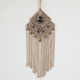 FULL TILT Diamond Chain Fringe Necklace