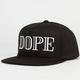 DOPE Pierre Mens Snapback Hat