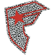 FAMOUS STARS & STRAPS Dalmation BOH Sticker