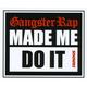 FAMOUS STARS & STRAPS G-Rap Sticker