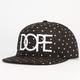 DOPE Polka Dot Classic Mens Snapback Hat
