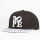 DOPE Splatter Love Mens Snapback Hat