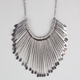 FULL TILT Metal Spoon Statement Necklace