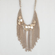 FULL TILT Chain Fringe Necklace