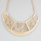 FULL TILT Cutout Crescent Bib Necklace