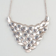 FULL TILT Metal Moon Bib Necklace