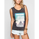 HURLEY Never Found Womens Muscle Tank