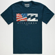 BILLABONG Split Destinations Mens T-Shirt