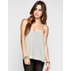FULL TILT Essential Womens Printed Swing Tank