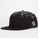 40OZ NYC Spiderweb Mens Snapback Hat