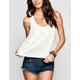 FULL TILT Daisy Lace Womens Tank