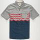 VANS Wave Stripe Mens Shirt