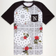 NEFF Snoop Dogg Floral Mens Pocket Tee