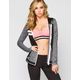HURLEY Beach Active Nike Dri-Fit Womens Hoodie