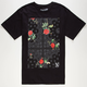 NEFF Snoop Dogg Floral Mens T-Shirt
