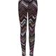 FULL TILT Chevron Stripe Print Girls Leggings