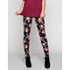 FULL TILT Floral Print Womens Leggings