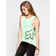 FOX Dusted Womens Hi Low Muscle Tank