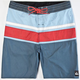 QUIKSILVER Panel Stripe Mens Boardshorts