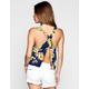 FULL TILT Tropical Print Womens Tank