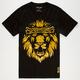 AURA GOLD Gold Lion Mens T-Shirt