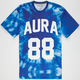 AURA GOLD Tie Dye 88 Mens T-Shirt