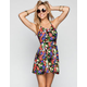 FULL TILT Tropical Print Halter Dress