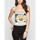 FULL TILT He Loves Me Daisy Womens Swing Tank