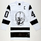 40OZ NYC Skull Mens Hockey Jersey