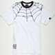 40OZ NYC Spider Web Mens T-Shirt