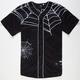 40OZ NYC Spider Web Mens Baseball Jersey