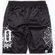 40OZ NYC Spider Web Mens Volley Shorts