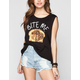 FULL TILT Bite Me Womens Muscle Tank