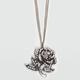 FULL TILT Large Rose Pendant Necklace