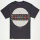 LIRA Paisley Circle Mens T-Shirt