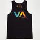 RVCA VA Tie Dye Mens Tank