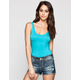 FULL TILT Essential Womens Crop Tank