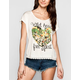 FULL TILT Wild Heart Womens Crochet Trim Tee