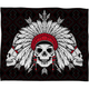 DENY DESIGNS Geometric Skull Throw Blanket
