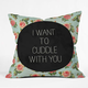 DENY DESIGNS Cuddle With You Throw Pillow