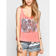 FULL TILT Double Hamsa Womens Swing Tank