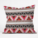 DENY DESIGNS Capri Stripe Throw Pillow