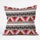 DENY DESIGNS Capri Stripe Throw Pillow