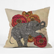 DENY DESIGNS Rosebud Throw Pillow