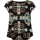 FULL TILT Southwest Print Girls Swing Top