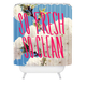 DENY DESIGNS So Fresh So Clean Shower Curtain