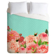 DENY DESIGNS Favorite Floral Luxe Duvet Cover