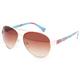 FULL TILT Floral Aviator Sunglasses